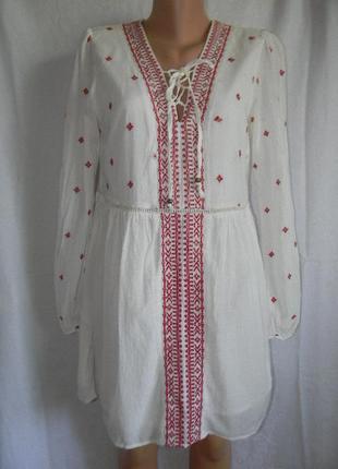 Платье с вышивкой falmer