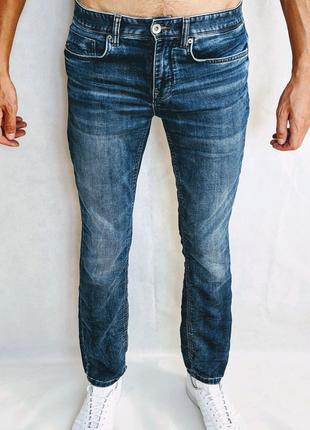 Мужские зауженные джинсы чоловічі джинси selected homme 32 размер