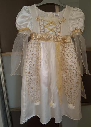 Карнавальный костюм платье ангел звёздочка принцесса