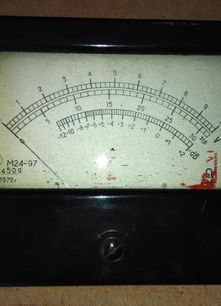 Микроамперметр М24-97 от генератора Г3-33