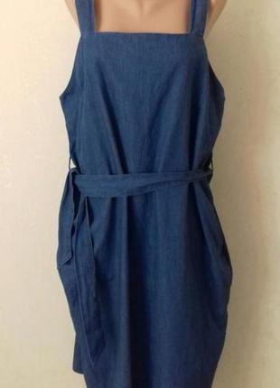 Джинсовое платье большого размера asos