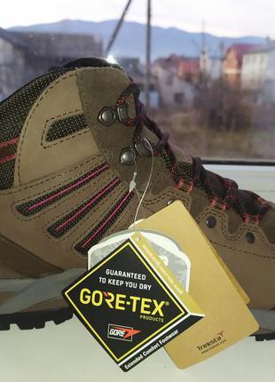 Водонепроницаемые зимние ботинки treksta gore-tex