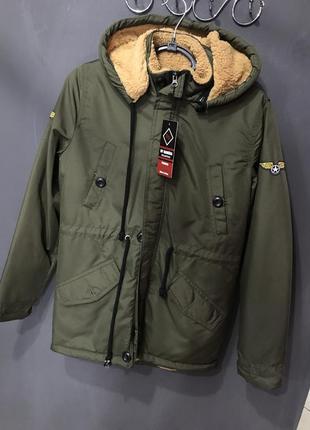 Мужская парка куртка