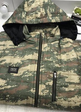 Мужская куртка oker sport wear милитари