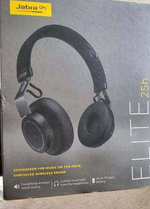 Навушники Jabra Elite 25h Wireless (Manufacturer Refurbished)