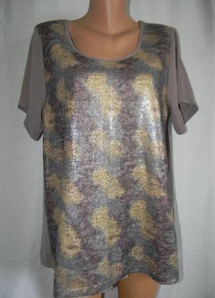 Красивая блуза пайетки