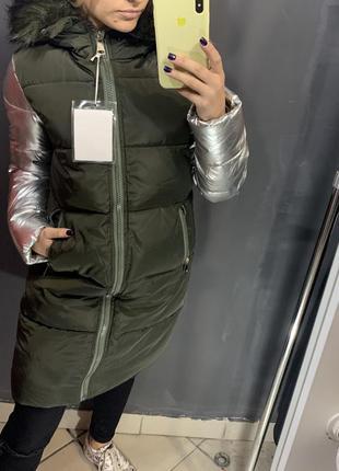 Стильная женская зимняя куртка