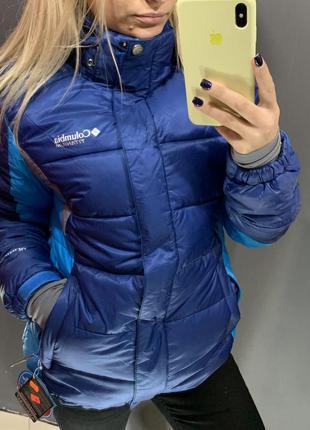 Зимняя лыжная термо куртка columbia titanium с omni-heat