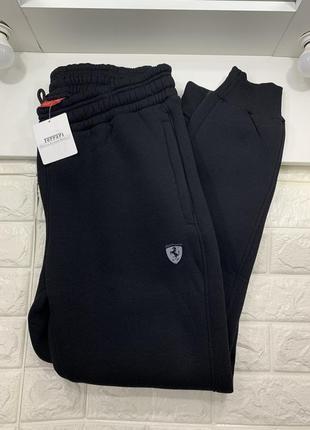 Мужские тёплые штаны puma ferrari
