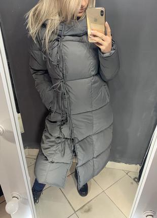 Женское пальто одеяло зимний пуховик
