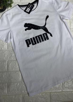 Мужская футболка в стиле puma