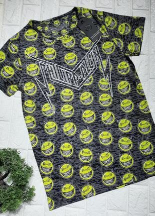 Мужская футболка в стиле philipp plein