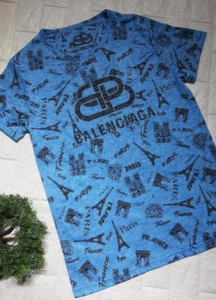 Мужская футболка в стиле balenciaga