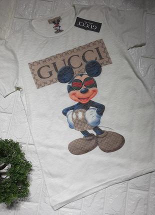 Мужская футболка в стиле gucci