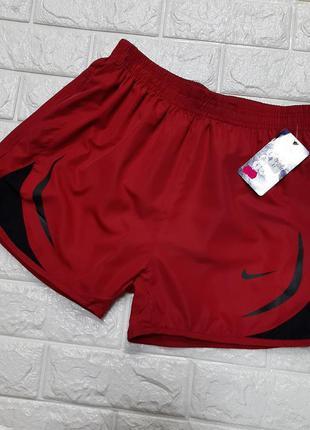 Мужские болоневые пляжные короткие шорты nike