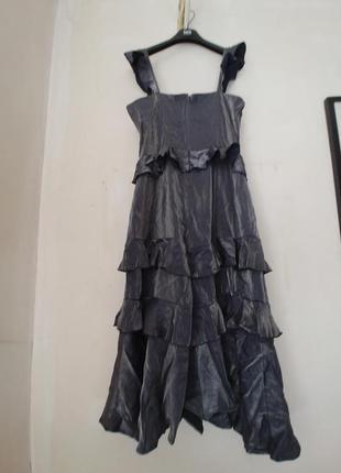 Стильное вечернее платье в пол новое