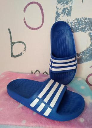 Adidas 31 р.duramo slide 20см. тапочки шльопки
