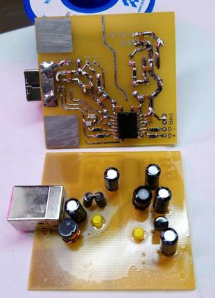 USB изолятор, гальваническая развязка ЦАП, DAC