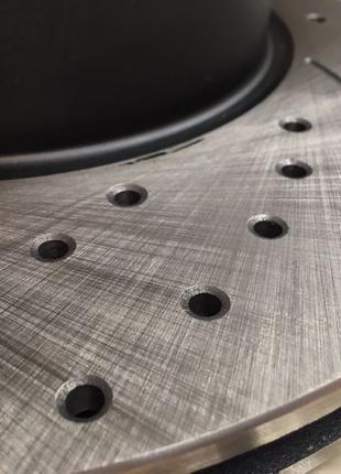 Передние тормозные диски MICODA (насечки + перфорация) для BMW...