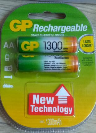 Новые аккумуляторы GP 1300 mA