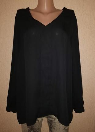 Красивая женская черная кофта, блузка vince camuto