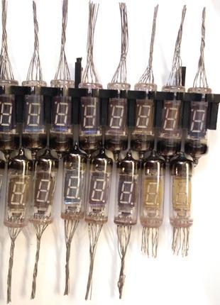 Люмінесцентний семисегментний індикатор ИВ-6