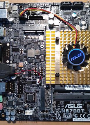 Материнська плата Thin mini-ITX ASUS N3700T