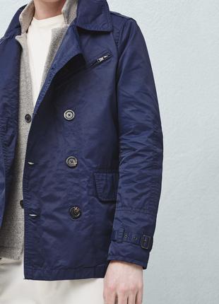 Мужская куртка ветровка, мужской тренч, тренчкот xxl 2xl 52-54-56