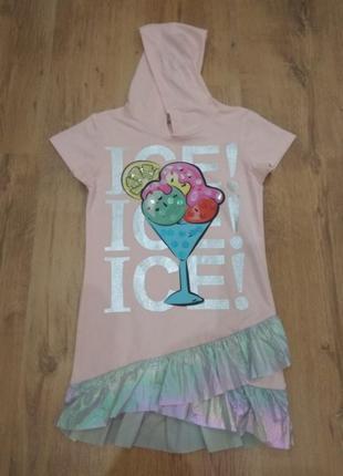 Стильное летние платье для девочки. турция