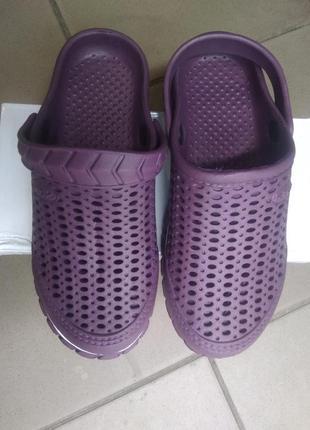 Женские сабо в стиле crocs , кроксы