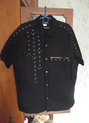 Рубашка  golden steampunk