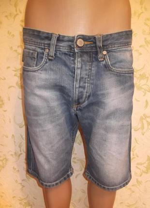 Шорты джинсовые бренд  jack & jones