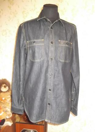 Джинсовая рубашка gap 1969