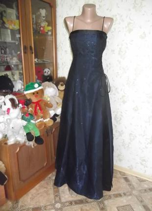 Красивое вечерние платье