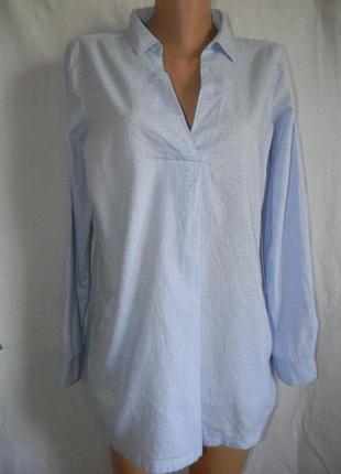 Натуральная блуза рубашка fat face