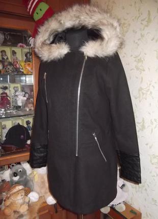 Пальто размер 12   сезон  весна-осень