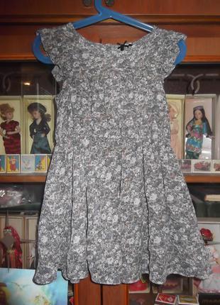 Платье на 4 годика