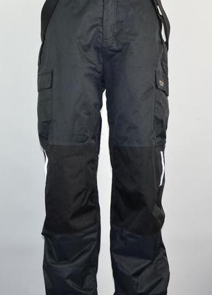Зимние лыжные, сноуборд штаны kamo (l) стёганая подкладка