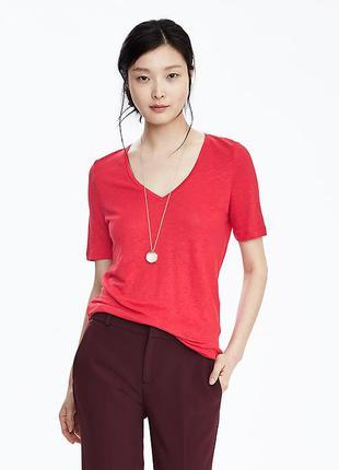Женская футболка banana republic l-xl 50-52р блуза блузка кофта