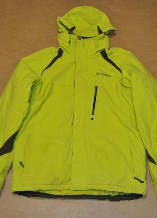 Columbia мужская утепленная куртка коламбия
