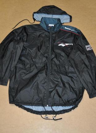 Reebok мужская куртка ветровка винтаж рибок