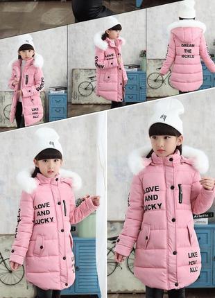 Стильный зимняя куртка