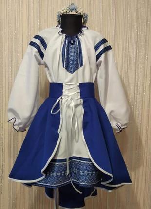 Вишиванка на дівчинку. українське плаття на дівчинку