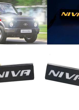 LED повторители поворотов ВАЗ-2121 Niva Нива светодиодные пово...