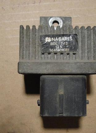 NAGARES BDL/7-12 Блок управления, время накаливания