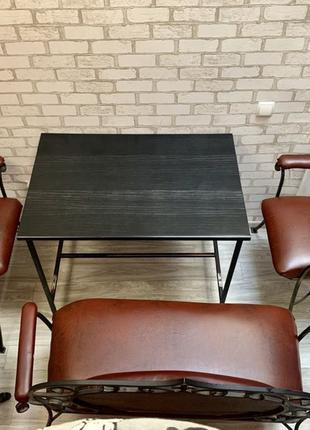 Кованная мебель комплект (стол,стулья и диваны)