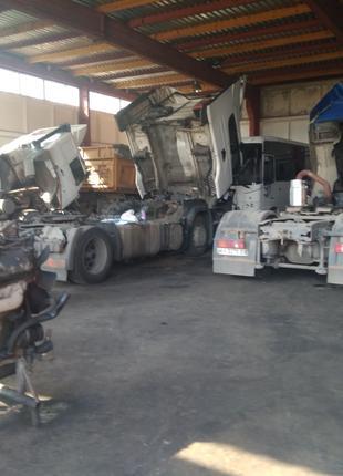 Ремонт грузовых автомобилей и прицепов