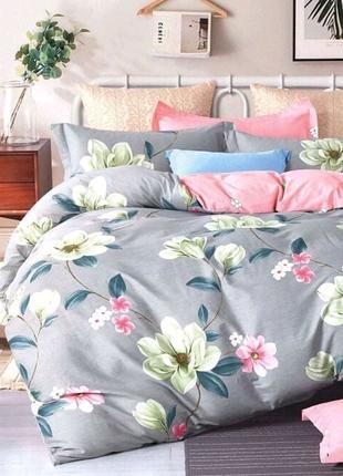Комплект постельного белья семейный макси