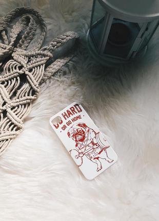 Чехол на iphone 4s с мопсом