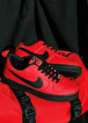 Nike Air Force Red Badge and S